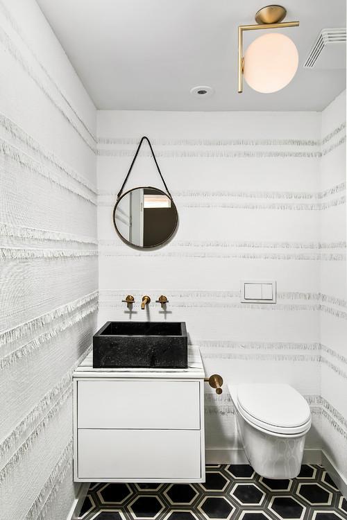 Contemporary Powder Room