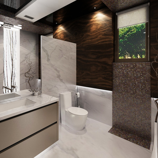 Featured bathroom designs contemporaneo bagno di for Bathroom design vancouver