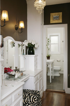 Cow Hollow Residence traditional powder room