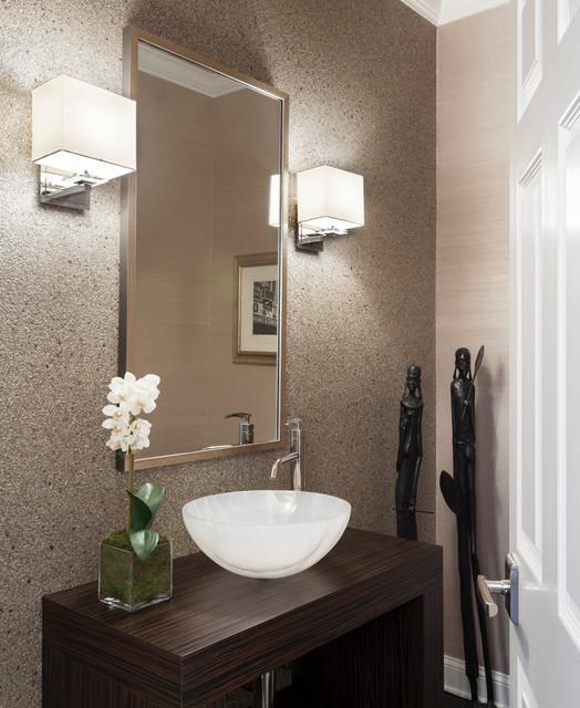 Ct residence moderno bagno di servizio new york di - Bagno di servizio ...