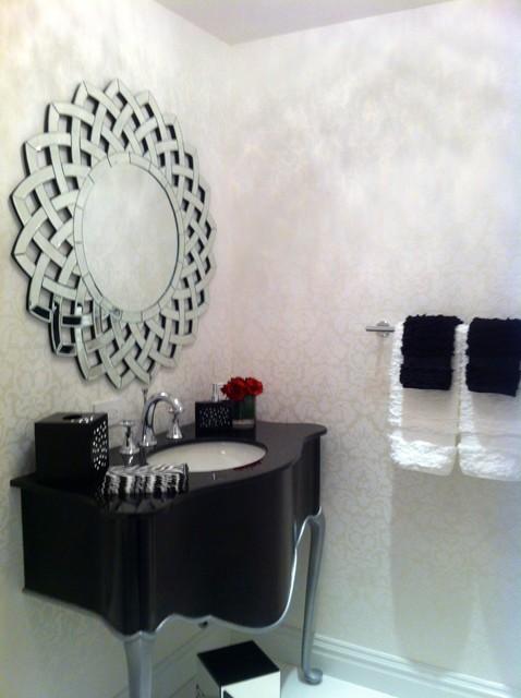 DAHARI DESIGNS contemporary-powder-room
