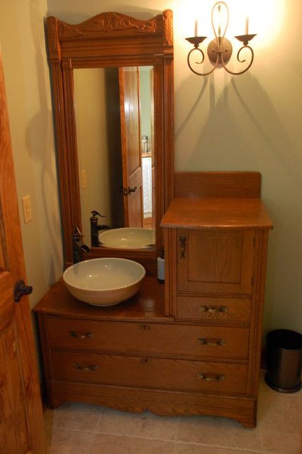 Design/Build Home traditional-powder-room