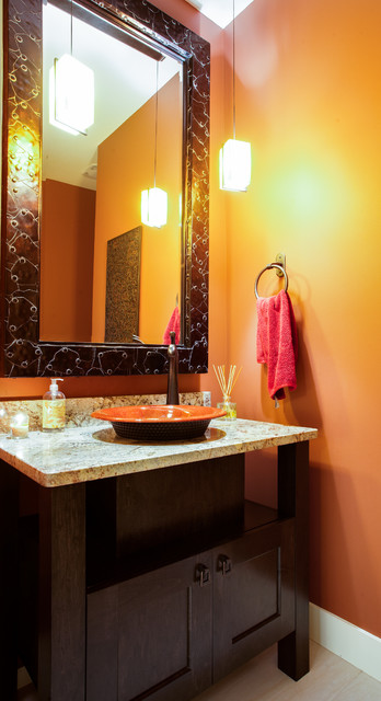 Dilworth eclectic-powder-room
