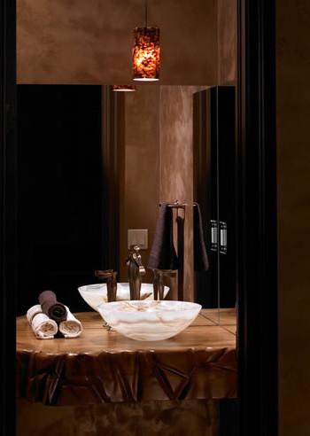 Bathroom Vanities Orange County on Vanity   Contemporary   Powder Room   Orange County   By Luxe