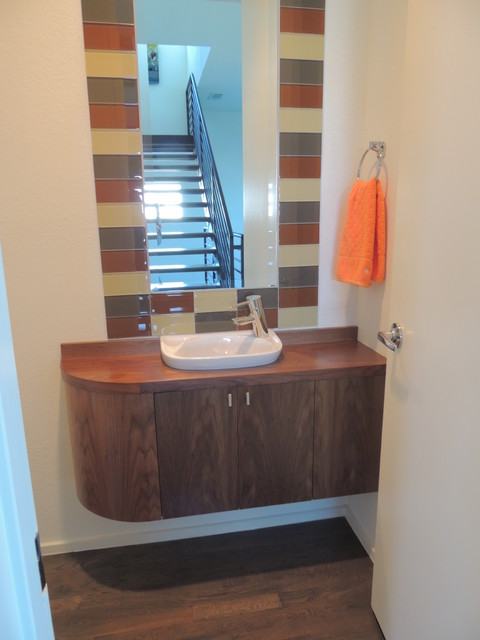 DN residence eclectic-powder-room