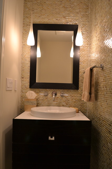 Donahue Paye Interior Design Contemporary Powder Room