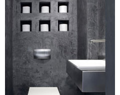 dorit sela modern powder room