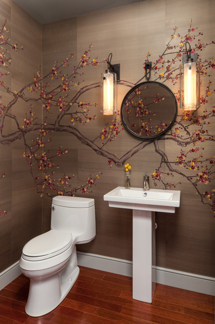 Downtown Eclectic Eclectic Powder Room Austin By