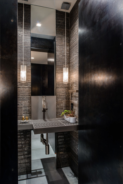 Garret Cord Werner Architects Interior Designers Building Duchess Mansion Contemporary Cloakroom