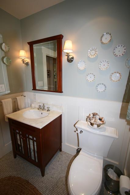 Duggan residence craftsman-powder-room