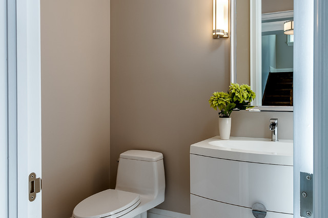 Traditional cloakroom in Toronto.