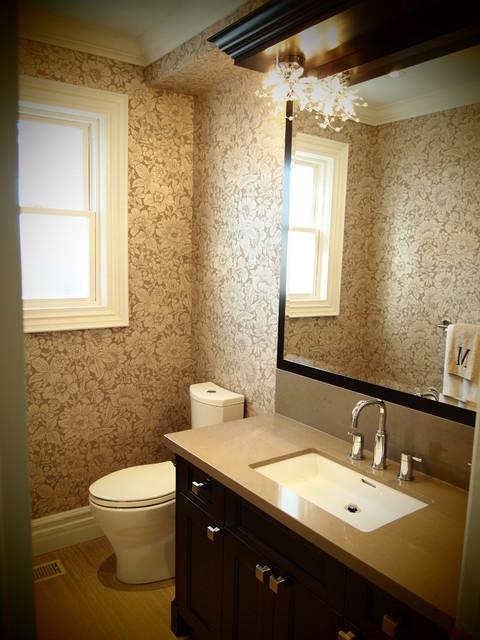 Eclectic Powder Room contemporary-powder-room