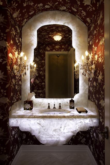 Eclectic Powder Room eclectic-powder-room