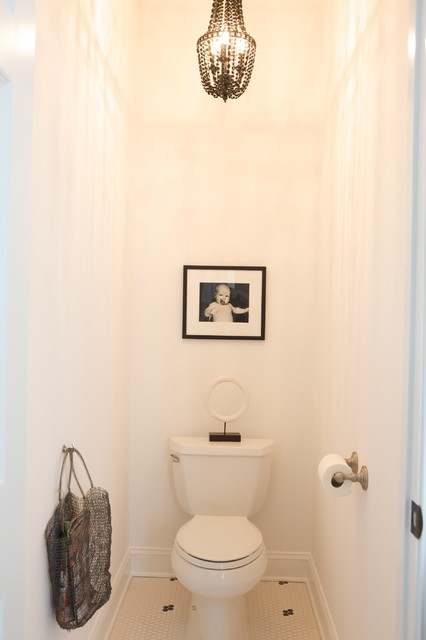 Heather Garrett eclectic powder room