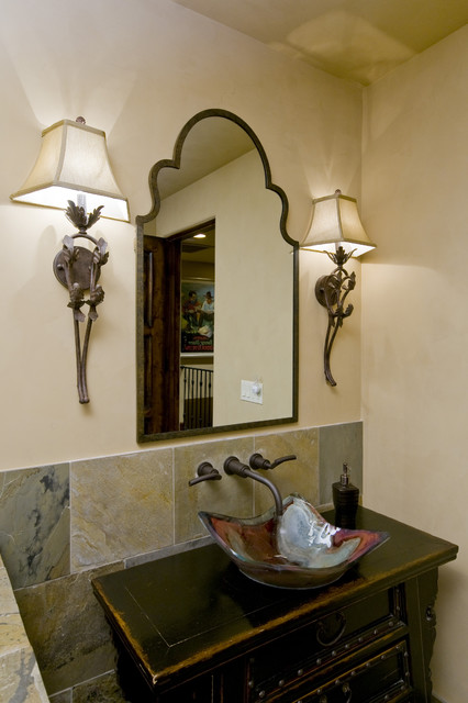 Eclectic Powder Room traditional-powder-room
