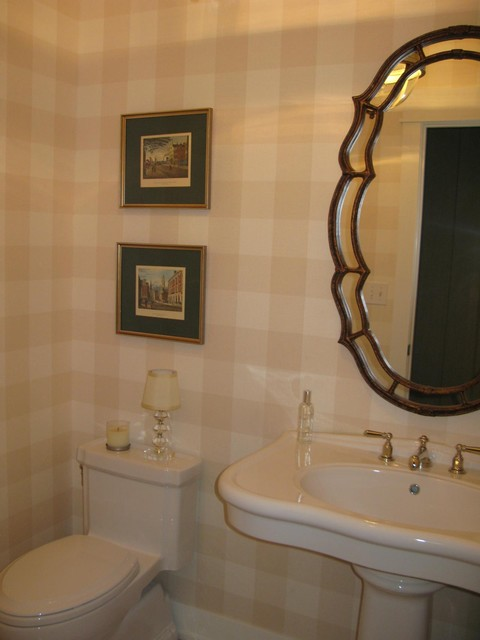 Elegant Powder Room Traditional Powder Room Denver
