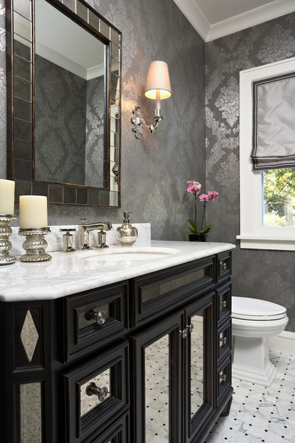 Elsie Interior | Moorland Avenue | Edina, MN traditional-powder-room
