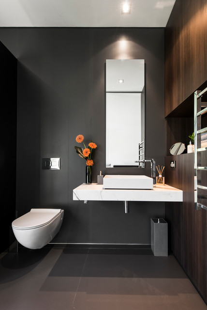 Expressing Views Contemporary Powder Room Perth By Urbane Projects Pty Ltd