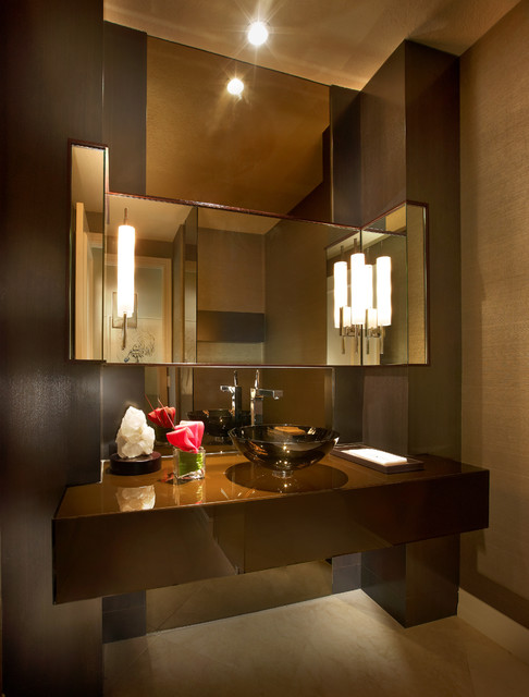 fenwick residence contemporary-powder-room