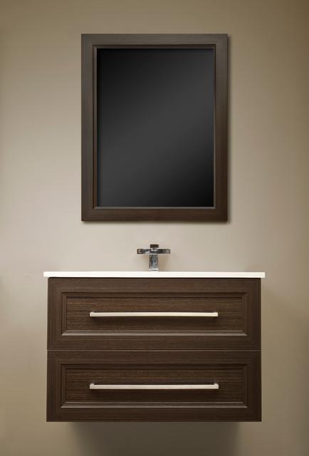 Floating vanities in london ontario modern powder room for Vanities for powder rooms