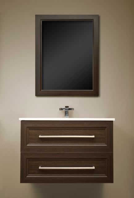 Modern powder room vanities ontario modern powder room