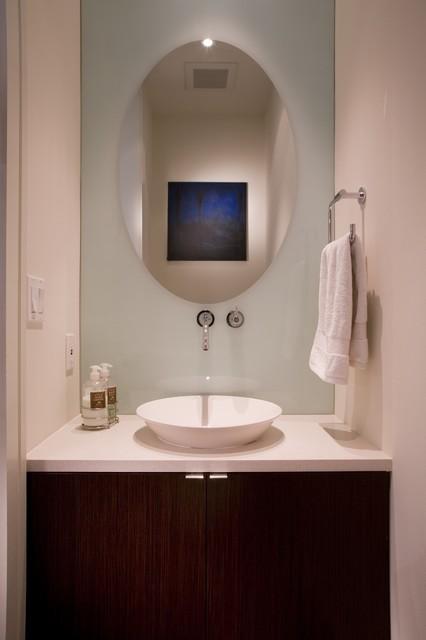 FORMA Design modern-powder-room