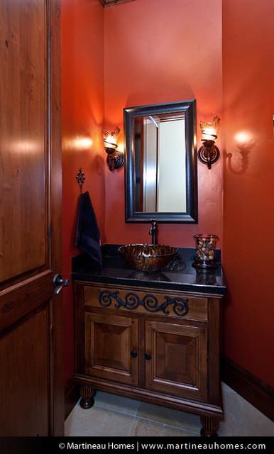 Fox Hollow traditional-powder-room