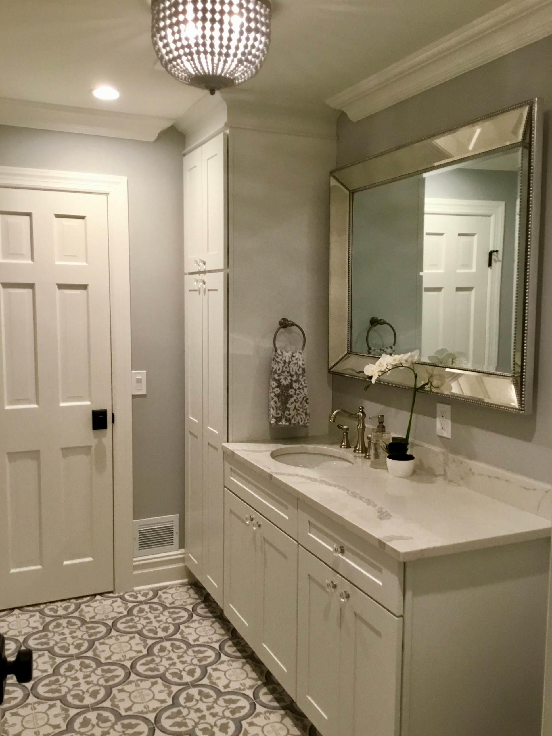 Fun Farmhouse Powder Room