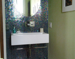 Funky Powder Room contemporary-powder-room