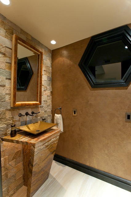 Gill Residence contemporary-powder-room