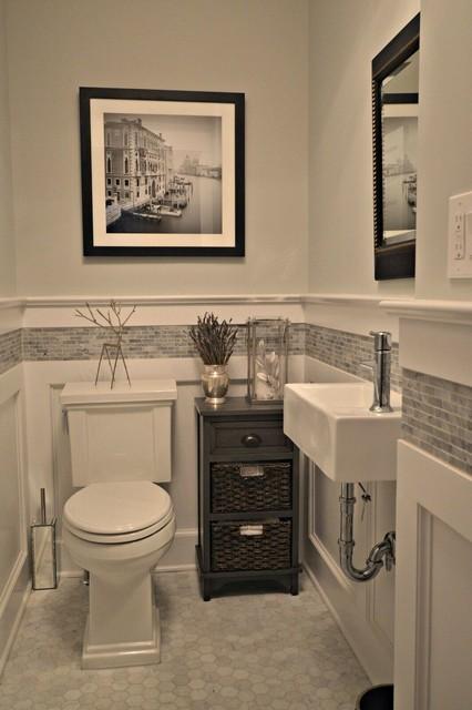 Glenbrook Remodel - Di transizione - Bagno di Servizio - New York - di Millennium Custom Homes