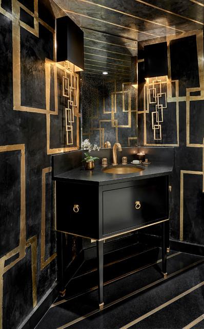 Gold Coast Residence - Contemporary - Powder Room ...
