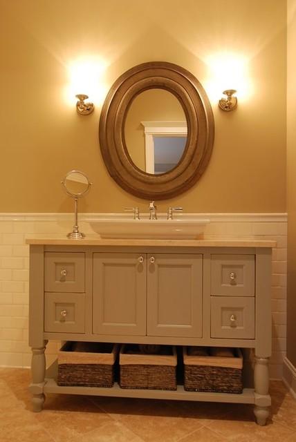 Grand Beach Bathroom traditional-powder-room