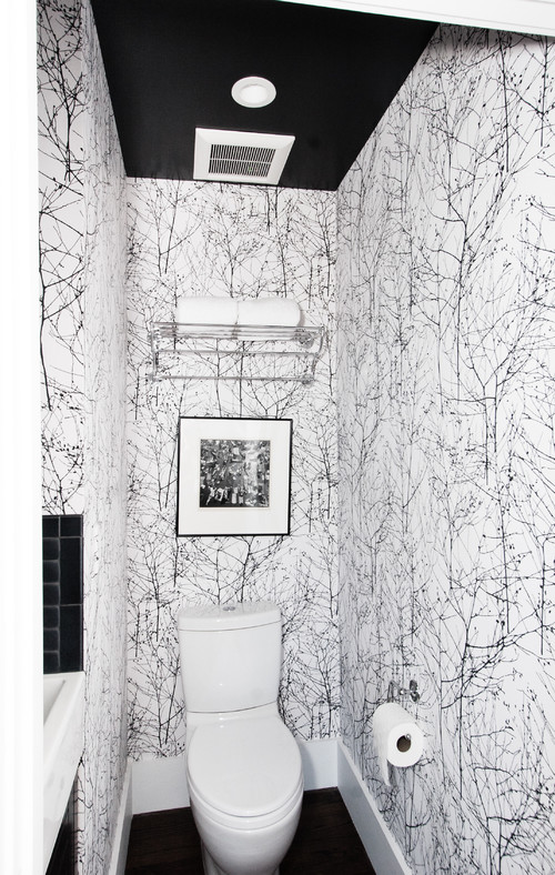 Graphic Half Bath