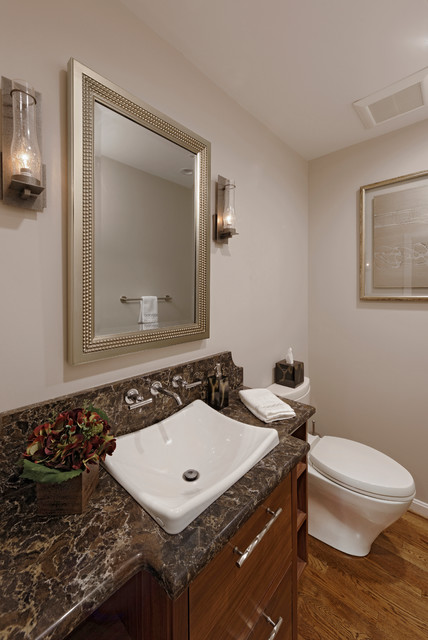 Great Falls Bathroom Amp Powder Room Transitional Powder