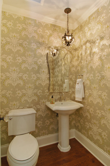 Great Neighborhhod Homes traditional powder room