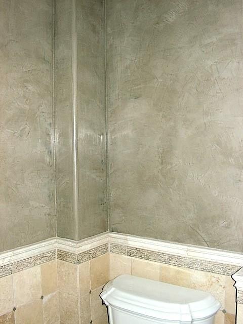 grey venetian plaster walls. Black Bedroom Furniture Sets. Home Design Ideas