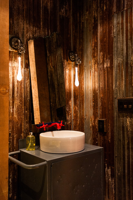Hamilton eclectic industrial industrial bathroom for Bathroom ideas vancouver