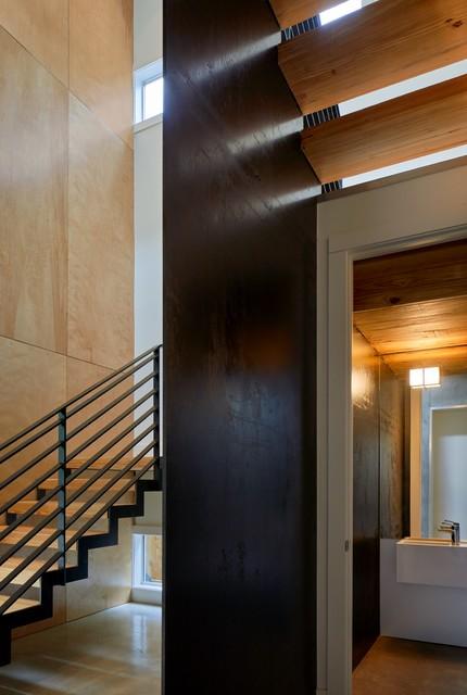 Hammer Residence modern-powder-room