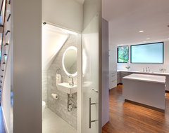 Harris Powder Room contemporary-powder-room