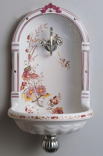 Herbeau Niche Fountain sink - Traditional - Bathroom Sinks ...