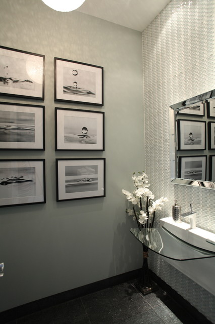 Hudson Residence contemporary-powder-room