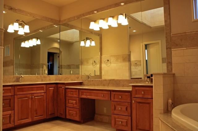 Iconic, Santa Barbara Style Home in Flintrock Falls mediterranean-powder-room