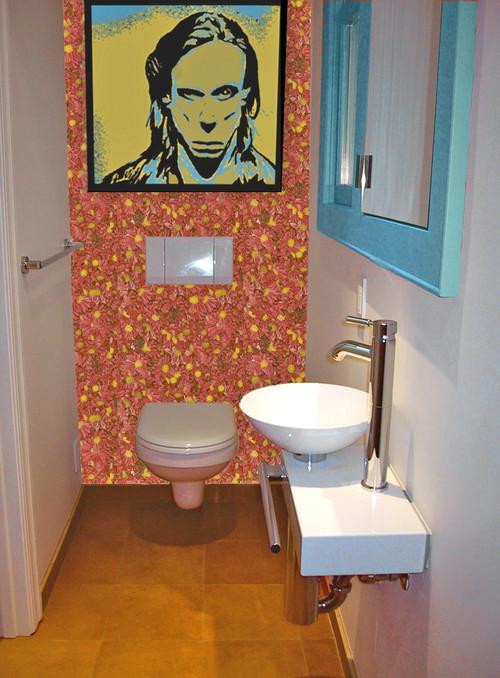 Iggys Modern Powder Room modern powder room