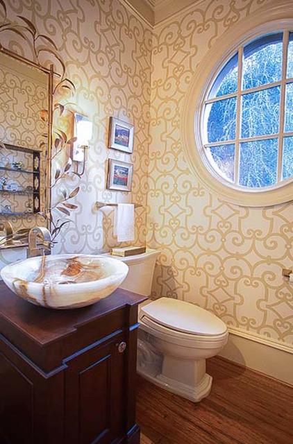 Powder Room By Amy Kartheiser Design: Inspired Interiors