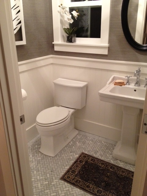 Irvington - Traditional - Powder Room - Portland - By TTM Development Company