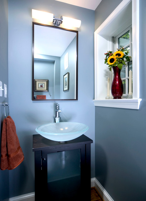 Ivy House Modern Powder Room Dc Metro By Anthony