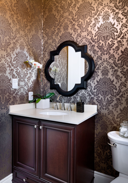 Jane Lockhart Interior Design traditional-powder-room
