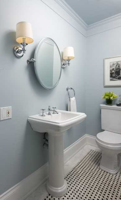 Jane Lockhart Traditional Powder Room Toronto By