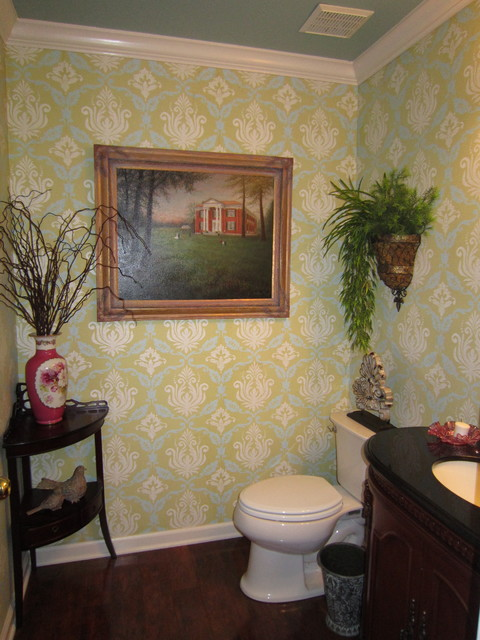 Juawanna Schuller traditional powder room